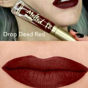 Too Faced Drop Dead Red lipstick